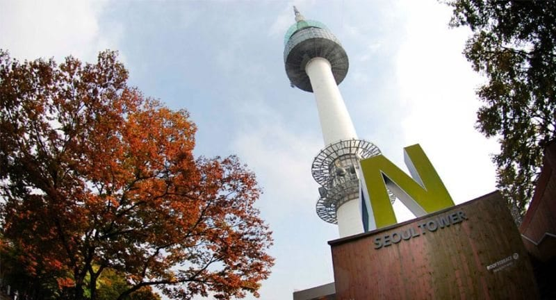 namsan-tower 24 hours in seoul