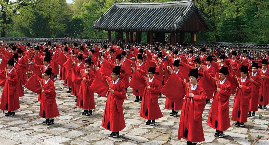 the best palaces to see in seoul jongmyo royal shrine