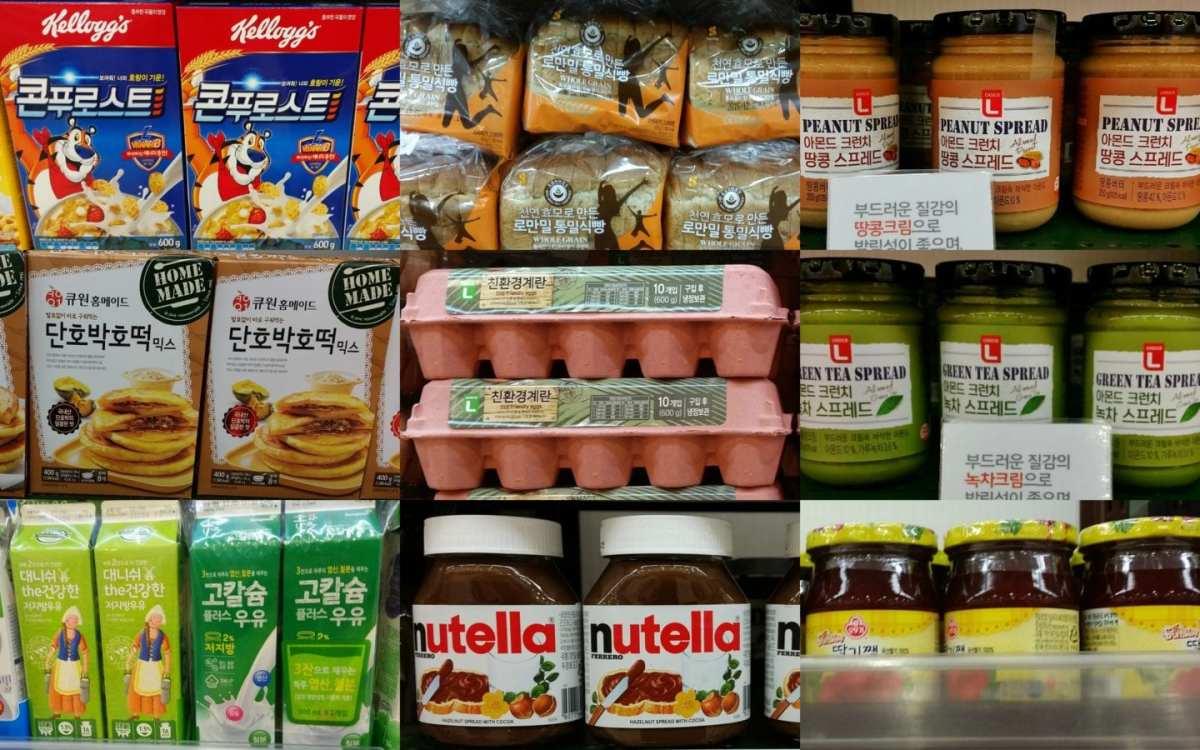 Korean Grocery Tips breakfast staples