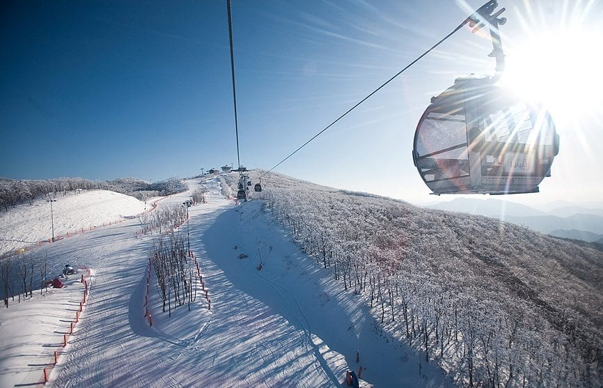 winter activities in korea High1 Ski resort