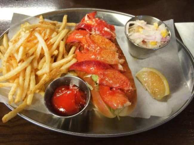American Comfort Food In Seoul lobster bar