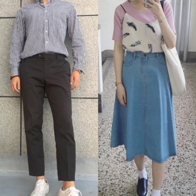 college life in korea fashion