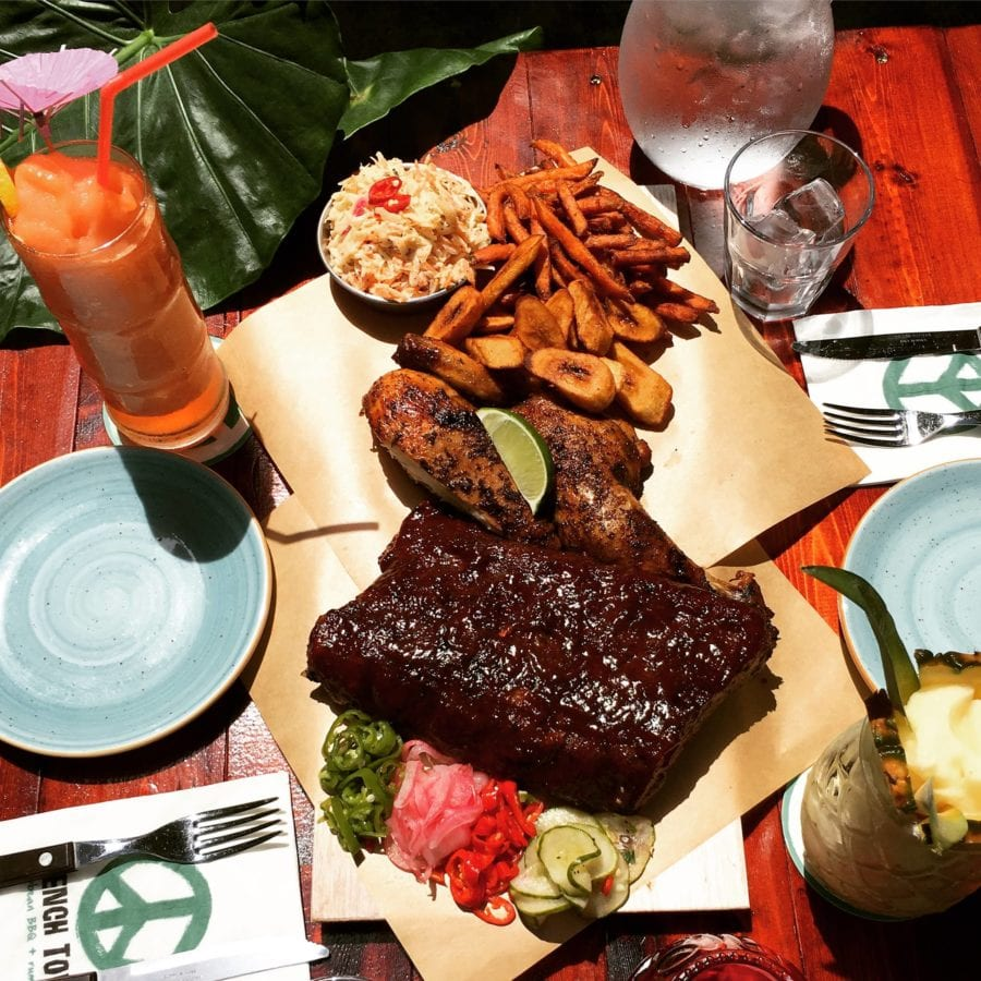 new restaurant seoul trench town caribbean bbq