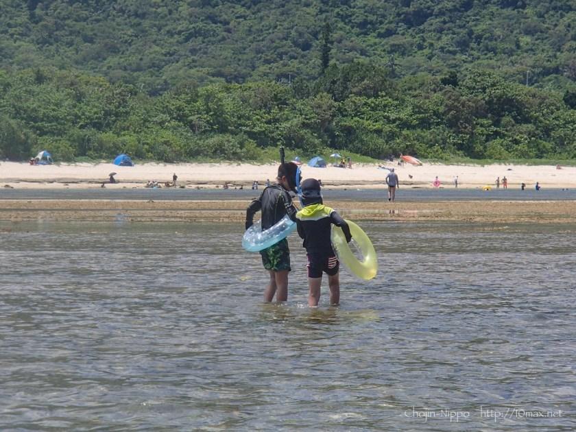 沖縄 石垣島 米原ビーチ シュノーケリング 子連れ
