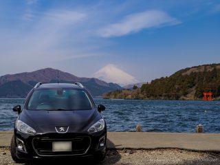 ありがとう猫バス君 - 箱根ドライブでシャイな富士山と共に308SWを労うの巻