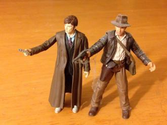 Doctor Who and Indiana Jones