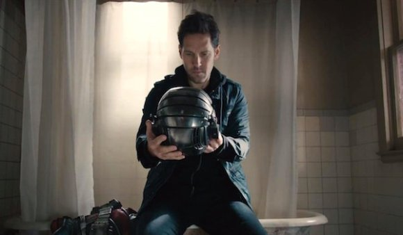 Paul Rudd as Scott Lang in Marvel Studios Ant-Man