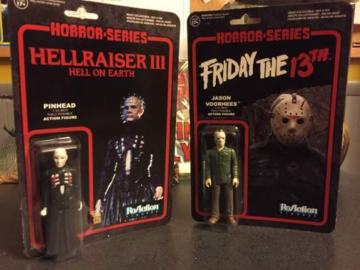 New Vintage Horror Action Figures