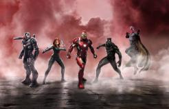 Civil War Artwork Iron Man