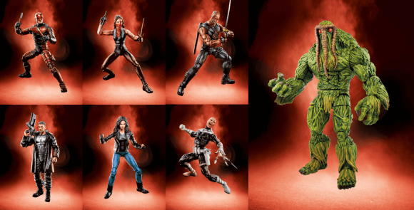 Marvel Legends Netflix Wave