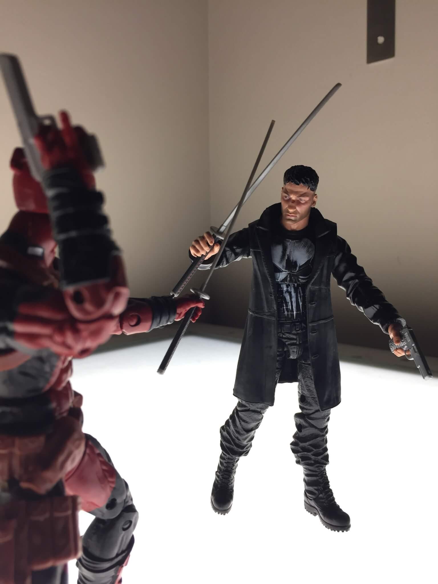 ML Punisher vs ML Deadpool