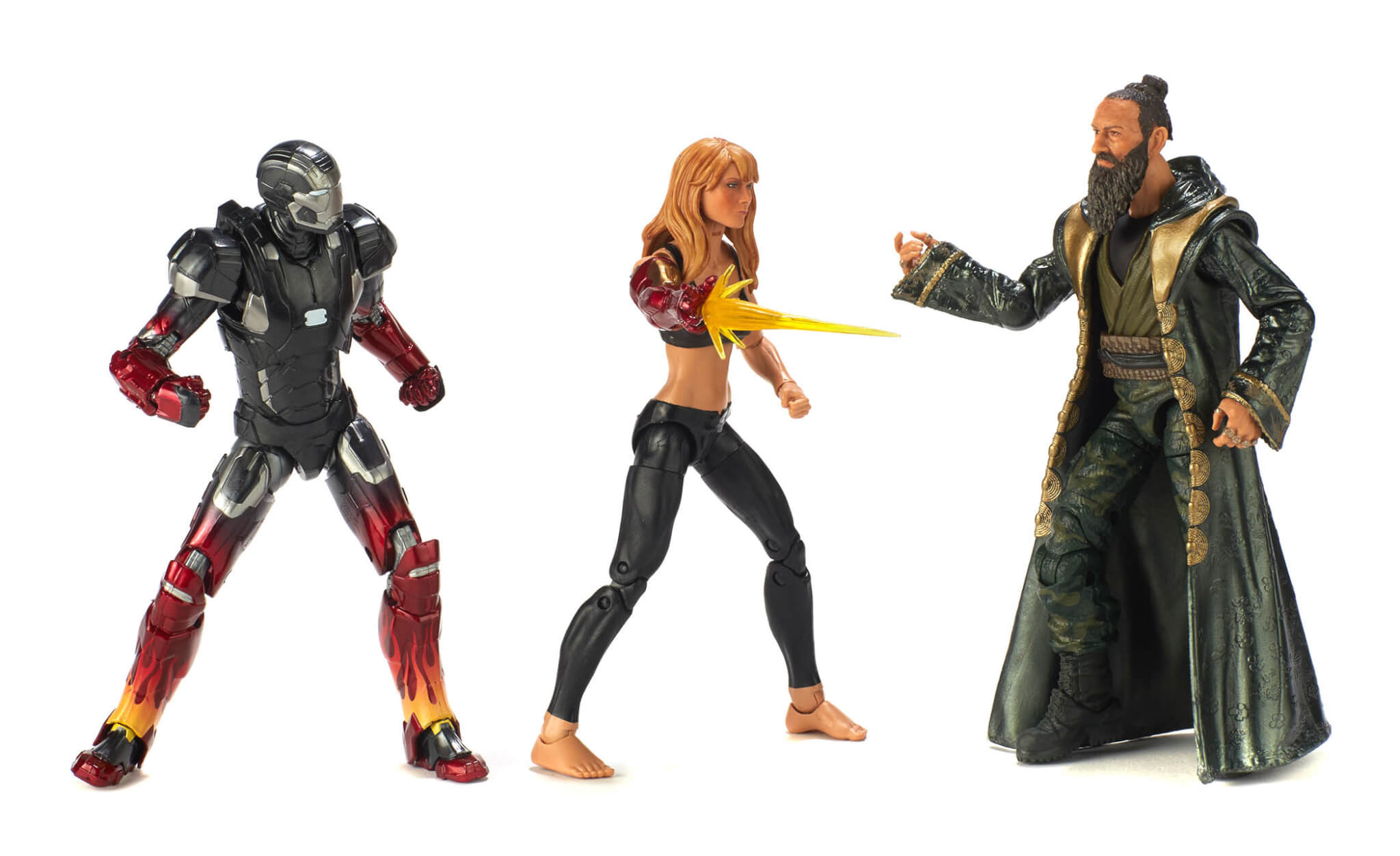 Hasbro 2018 MCU Iron Man Pepper Potts and the Mandarin 3-pack