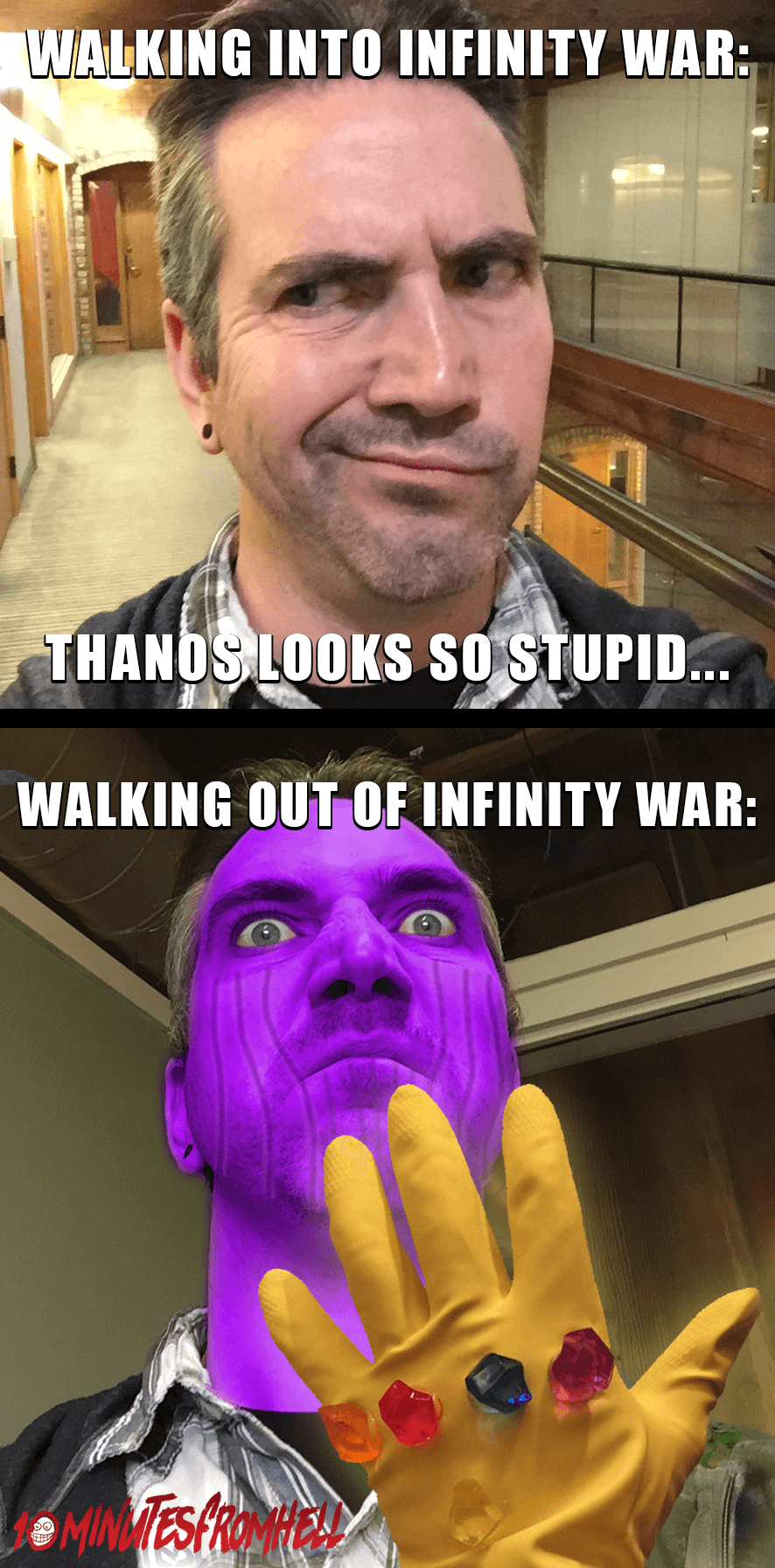 funny infinity war thanos looks lame meme