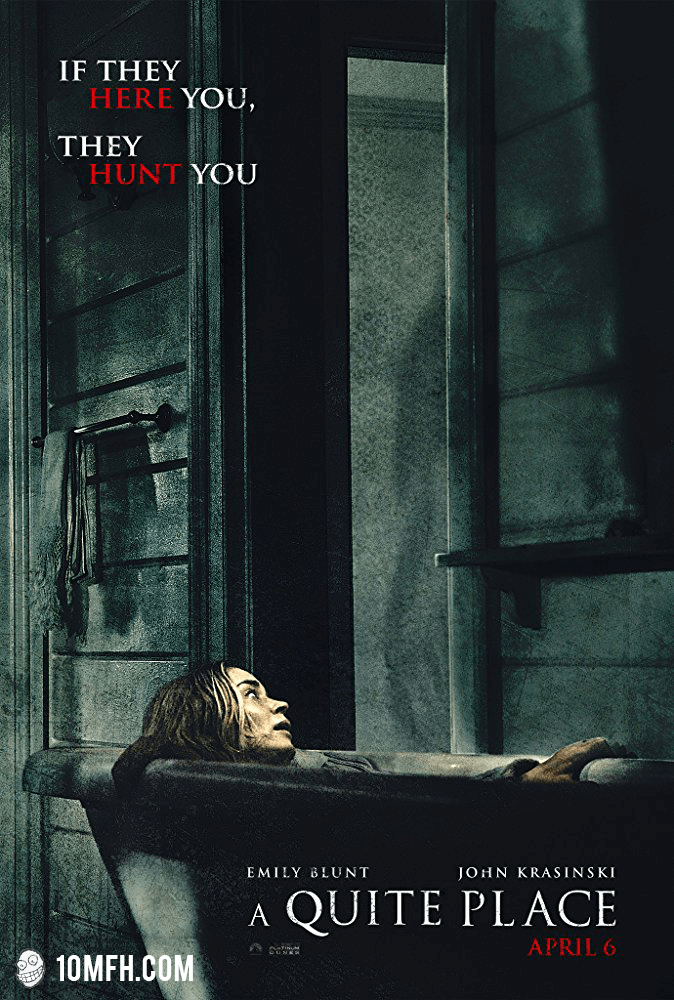 Quiet Place Parody Poster