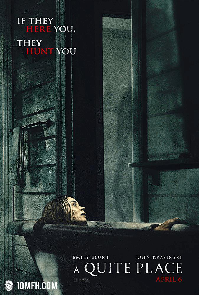 Quiet Place Parody Poster