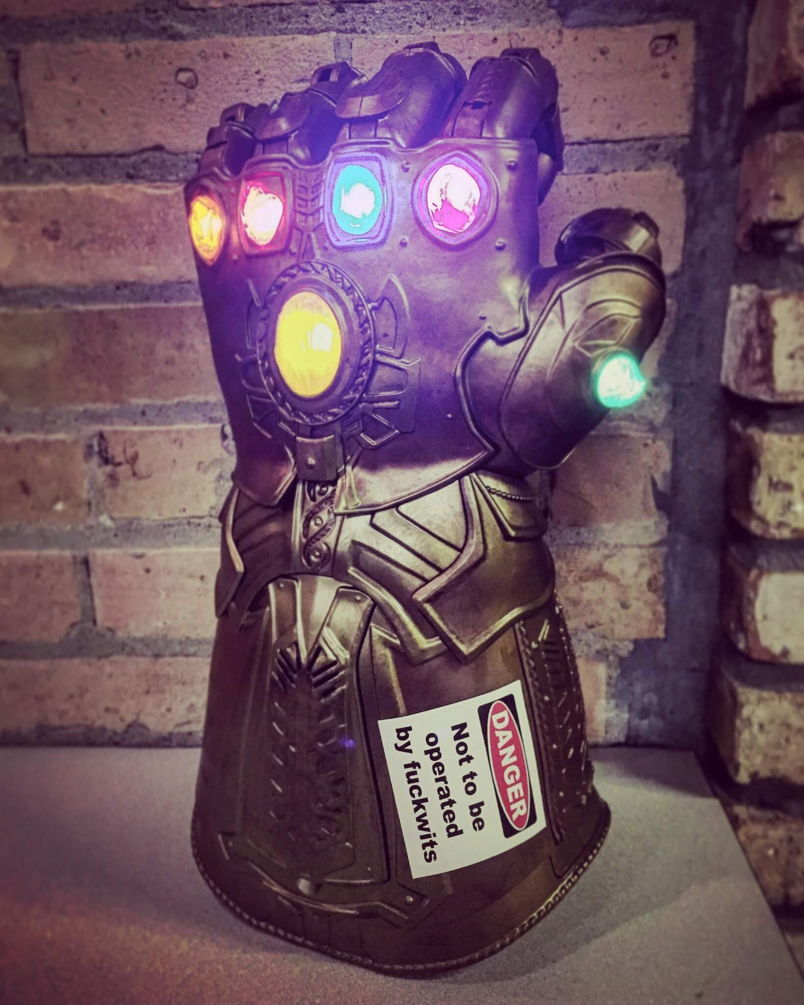 Infinity Gauntlet is not to be used by Fuckwits