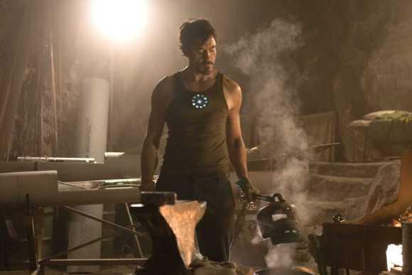 Tony Stark Cave Iron Man HQ