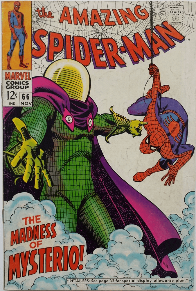 Amazing Spider-Man 66 Mysterio Cover