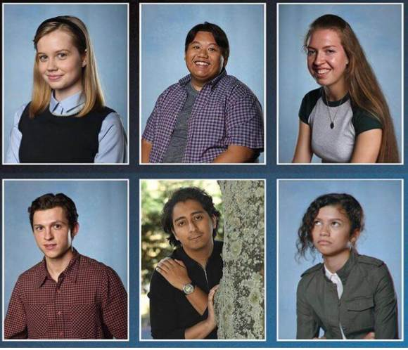 Spider-Man Yearbook Pictures