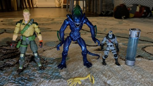 Lanard Toys Alien Warrior Xeno size comparison