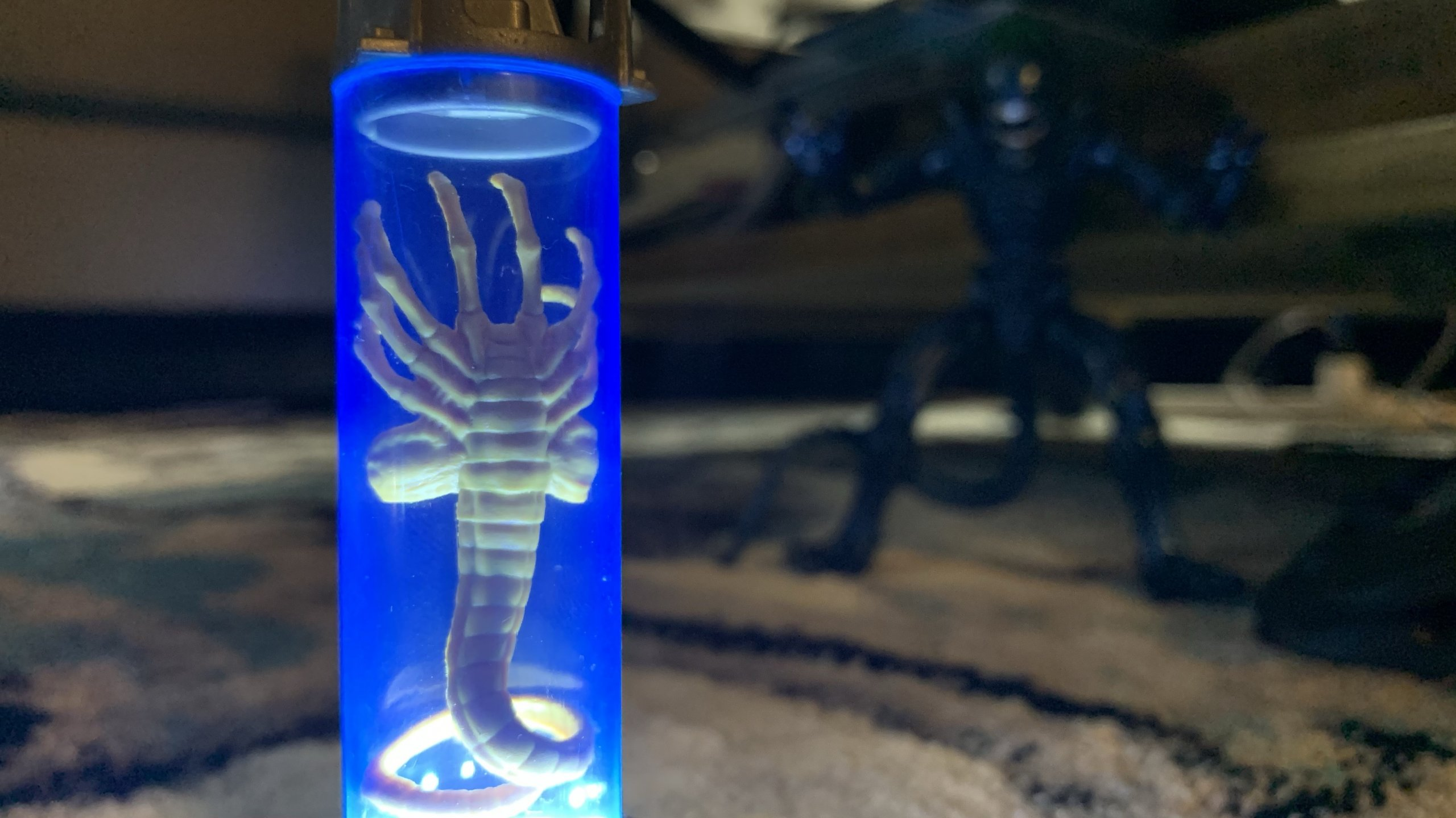 Lanard Toys Alien Warrior Xenomorph and Facehugger lit up