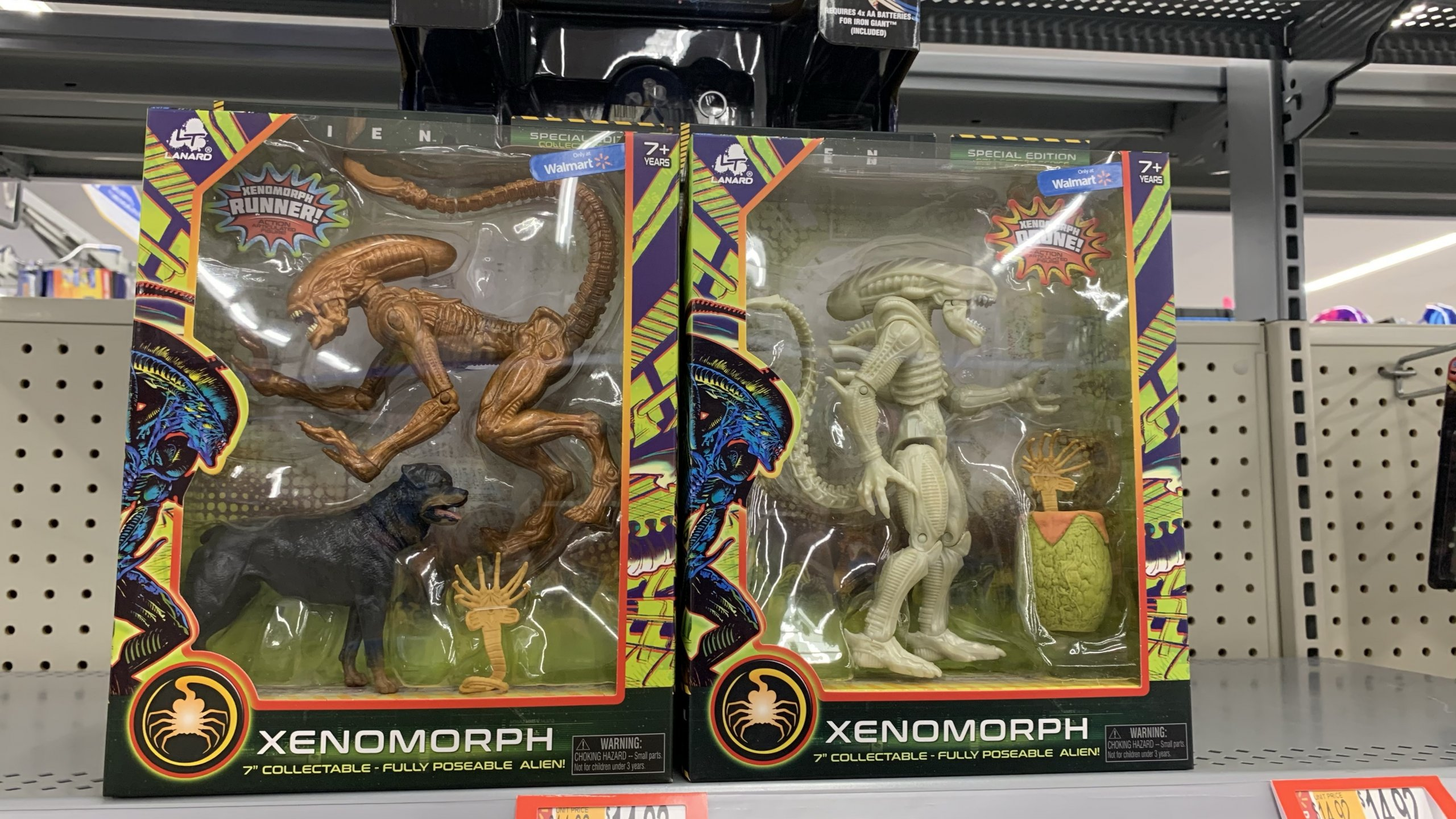 Lanard Toys Alien and Predators at Walmart