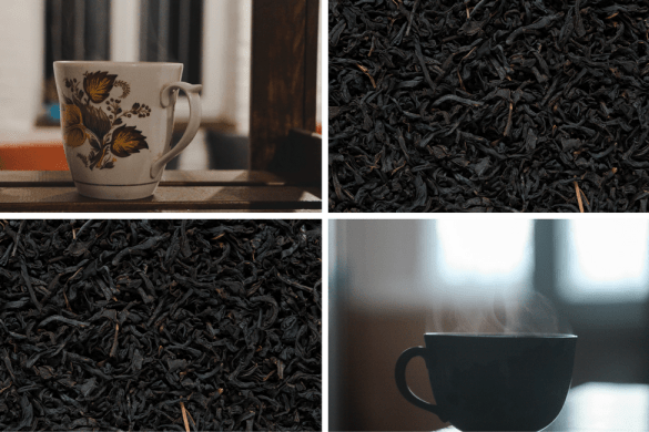 LEAF Tea Club - teacups and loose leaf tea