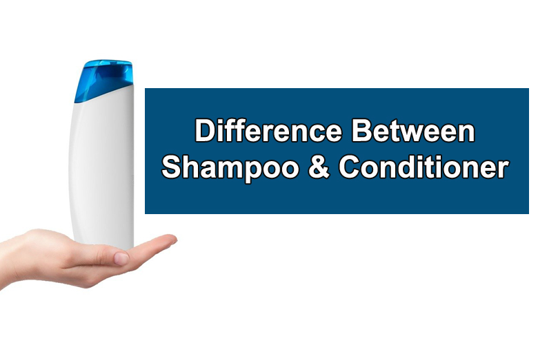 Difference Between Shampoo and Conditioner