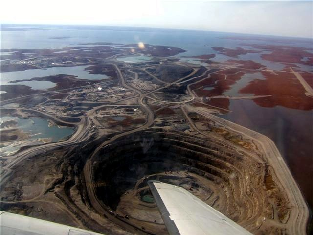 Diavik Diamond Mine, Canada (source: wiki)