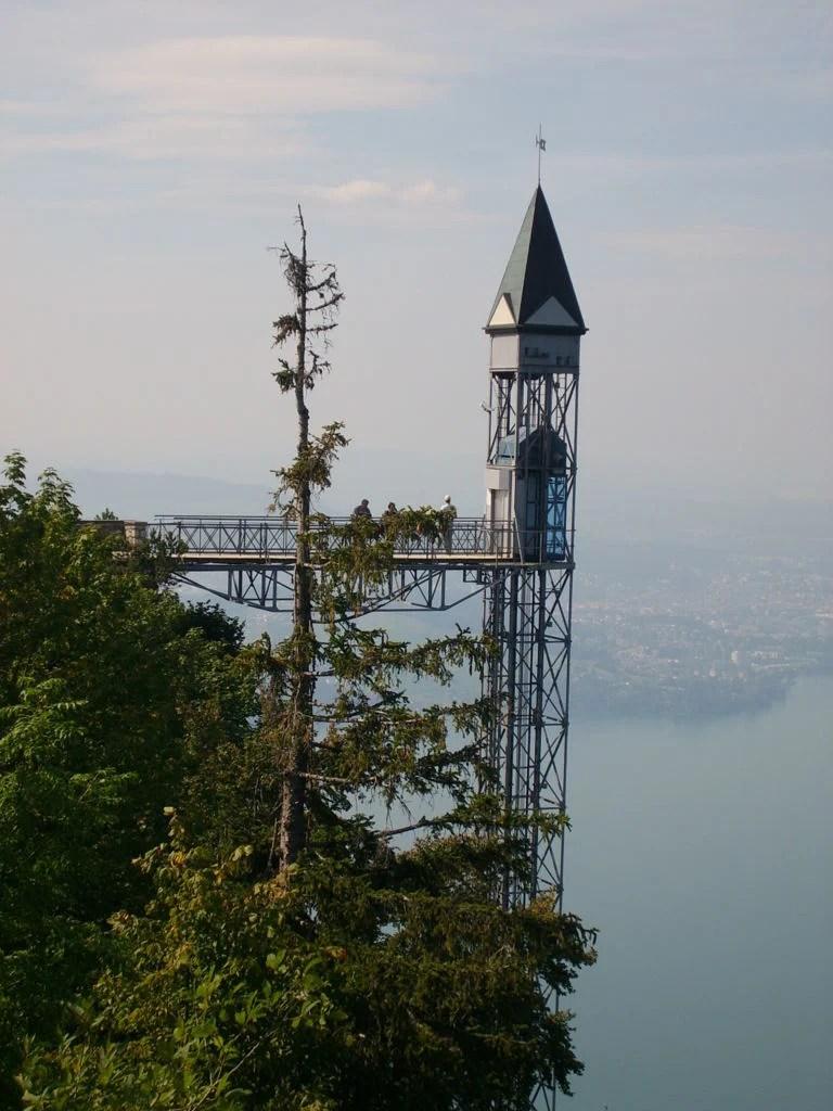 The Hammetschwand Lift, Switzerland - The highest exterior elevator in Europe