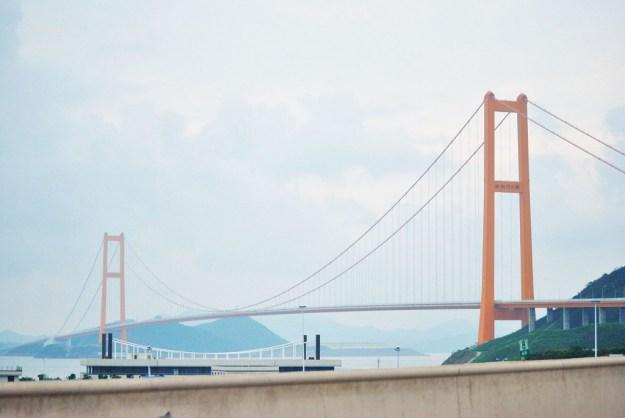 10 Longest Suspension Bridge Spans: Xihoumen Bridge