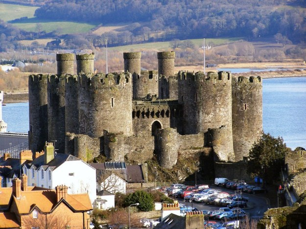 Conwy Castle, Wales, United Kingdom