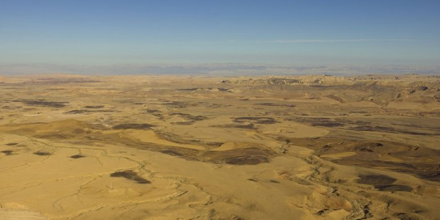 Best Attractions In Israel: Ramon Crater, Negev