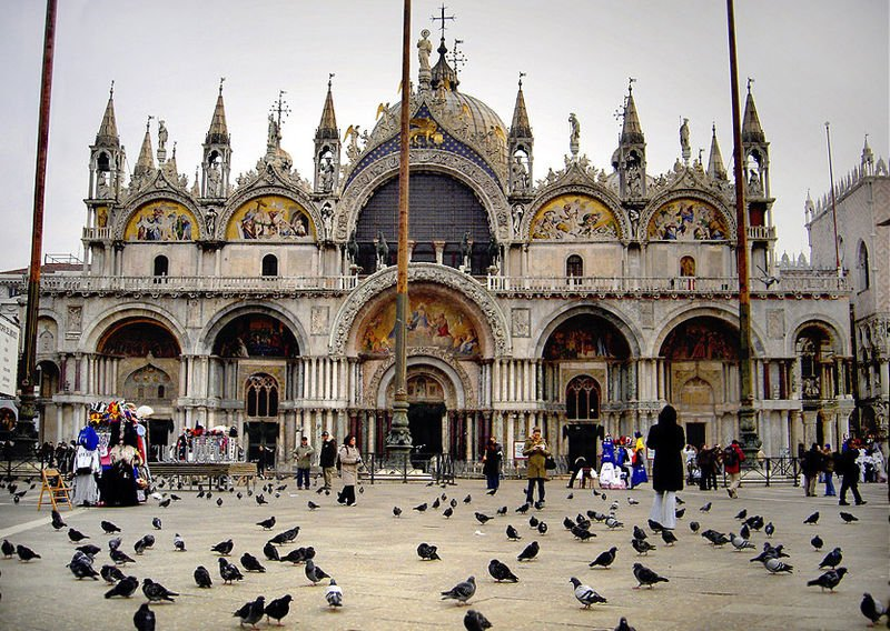 Most Famous Churches In The World:Saint Mark's Basilica, Venice