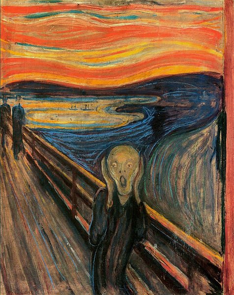 Most Famous Paintings: The Scream, by Edvard Munch