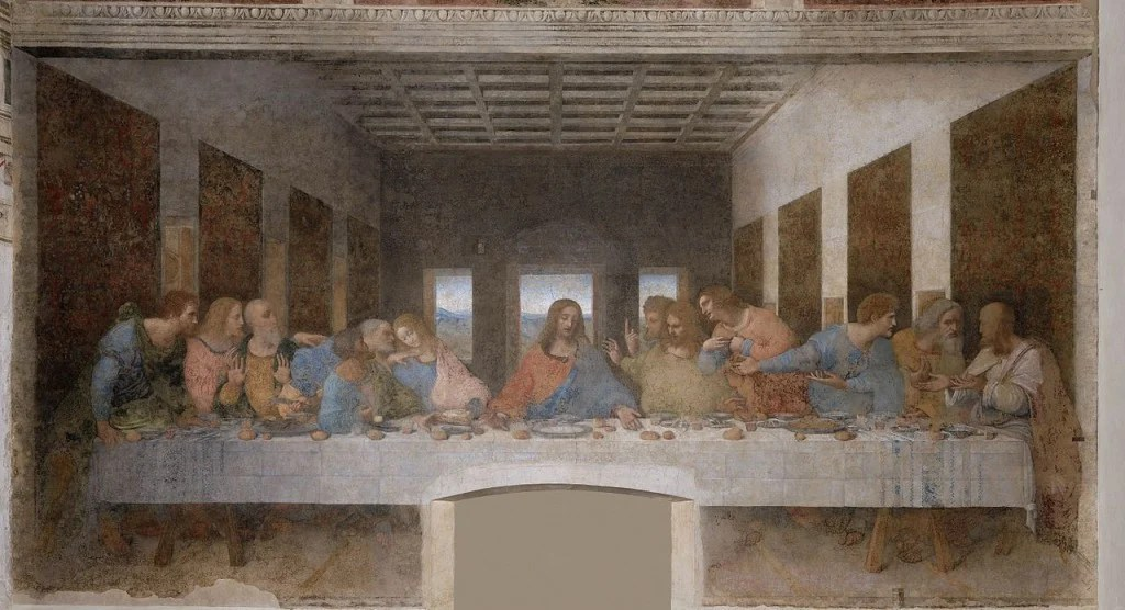 Most Famous Paintings: The Last Supper, by Leonardo da Vinci