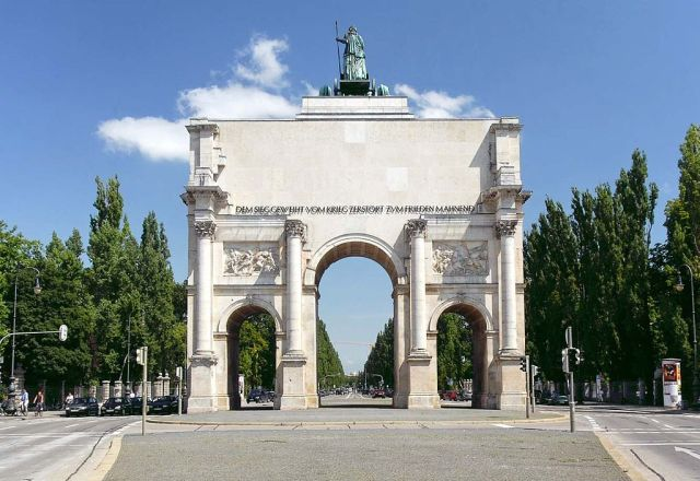 Most Famous Man-Made Arches: Siegestor (Victory Gate), Munich
