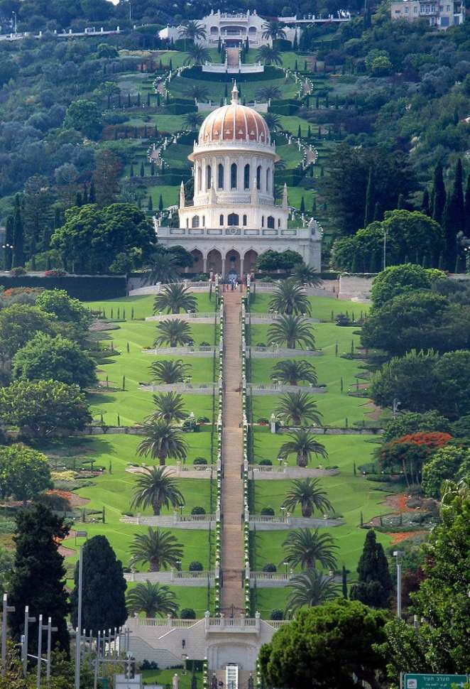 Staircases Worth The Climb: Baha'í gardens, Haifa