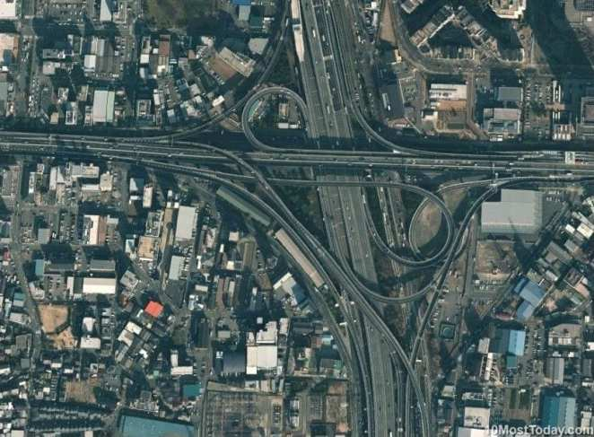 Mind Blowing Interchanges: Higashiosaka Loop, Osaka
