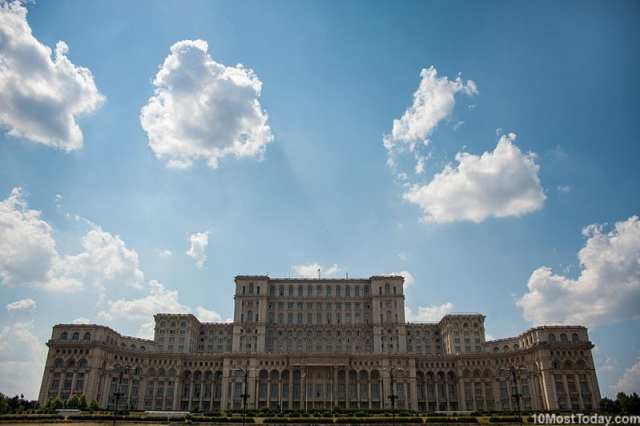 Most Beautiful Parliament Buildings: The Palace of Parliament, Bucharest