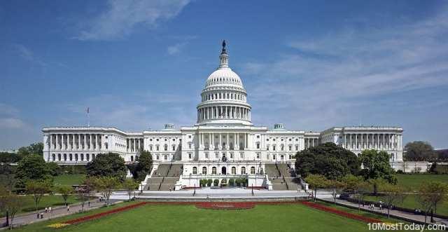 Most Beautiful Parliament Buildings: The Capitol, Washington DC