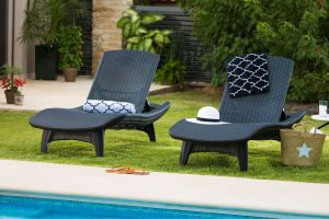 Keter Pacific Sun Chaise Lounger Set review