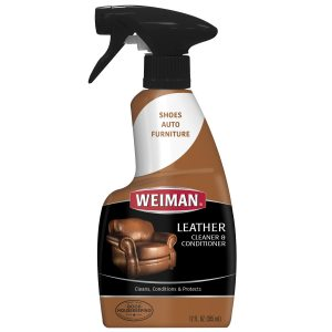 Weiman Leather Cleaner review