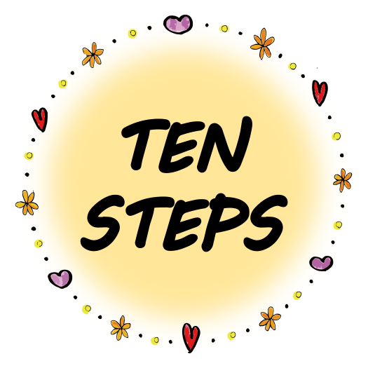 TEN STEPSプロジェクト ロゴ