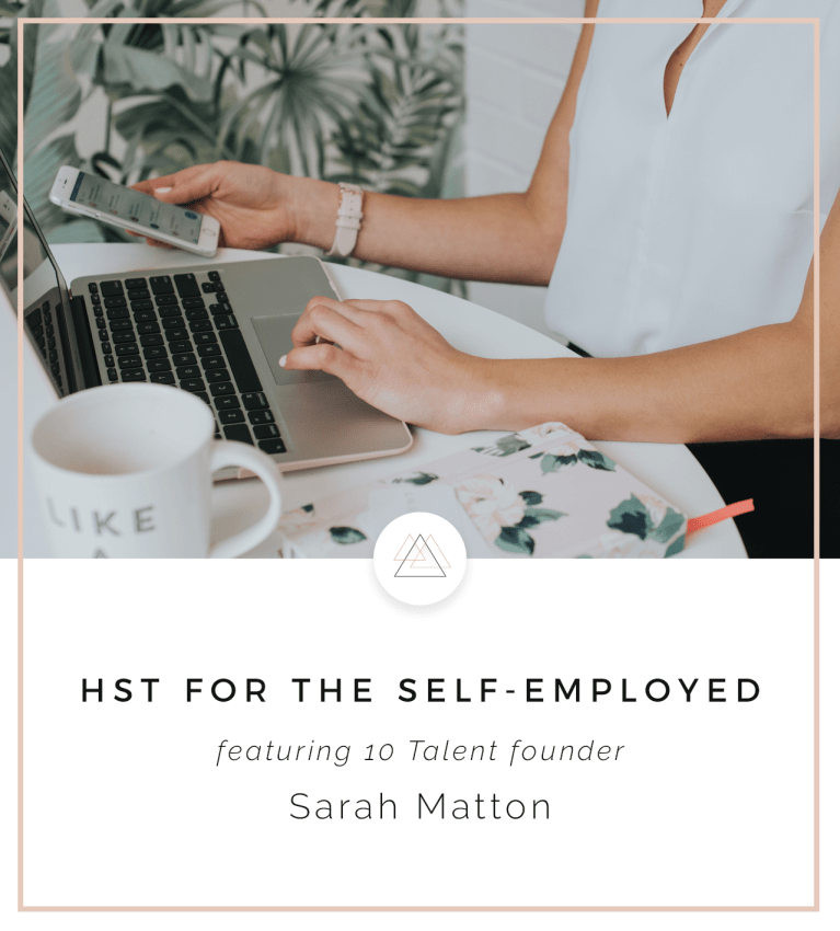 HST for the Self-Employed