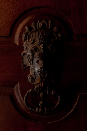 Door ornamentation at Ecouen