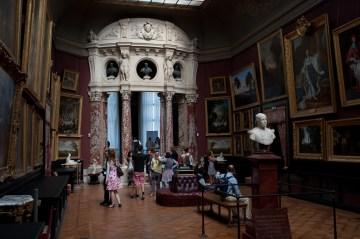 Art on display at Chantilly