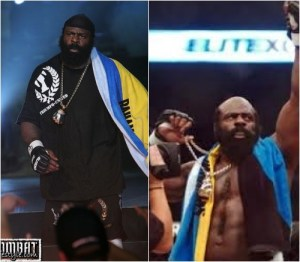 Whether pre fight or post fight, Kimbo let you know where he came from
