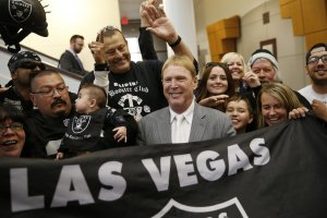 I still cant believe it....not the move to Vegas, that Mark Davis continues to live life as a grown adult with that hairstyle.