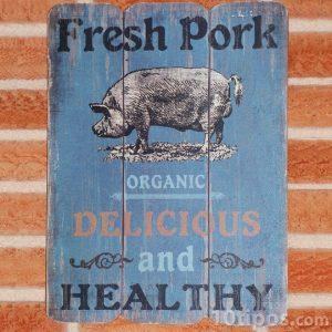 Vegan yiyecekler hakkında reklam